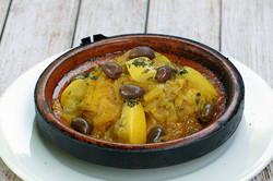 villa mogador_tagine poulet olive et cit