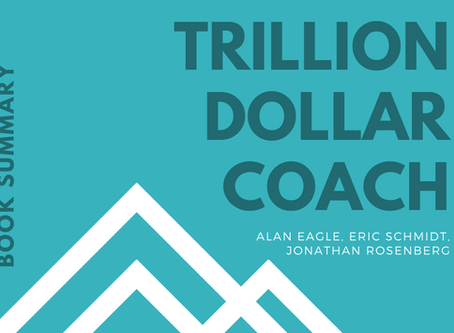 Book Summary: Trillion Dollar Coach