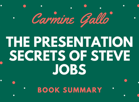 Book Summary: The Presentation Secrets of Steve Jobs