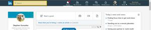 The LinkedIn Search Bar