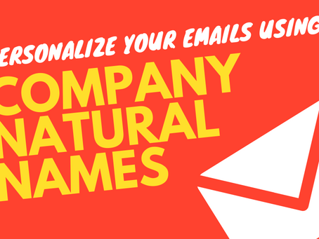 Email Variables: The Company Natural Name
