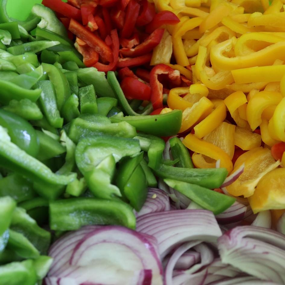 Bell Pepper Veggie Mix!