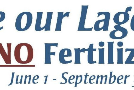Fertilizer Summer Ban Reminder