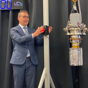 Launch of Cryoclock at Lot Fourteen, Adelaide