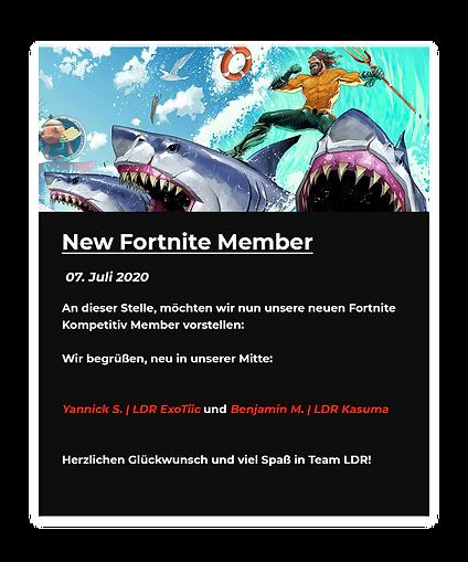 New Fortnite Member News.png