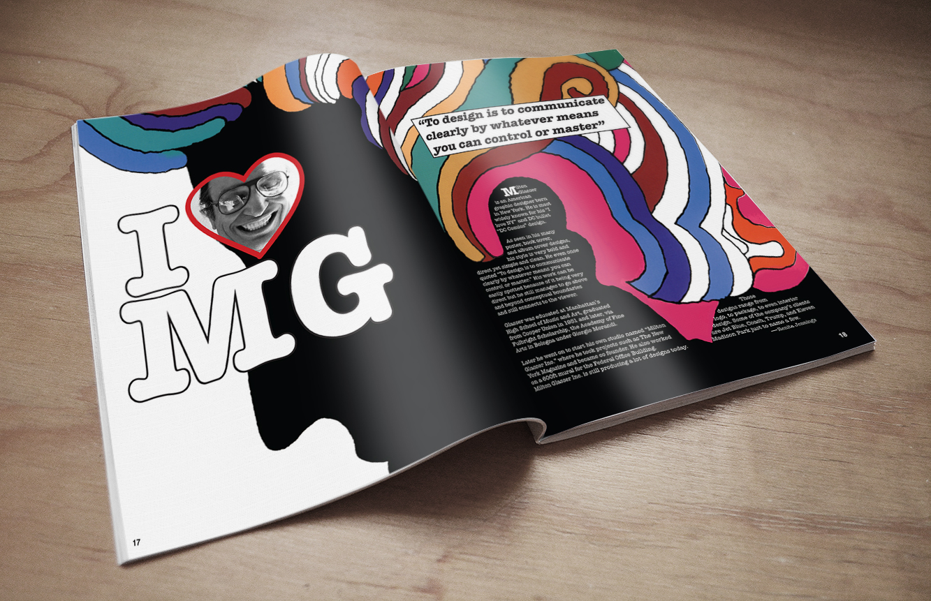 Milton Glaser Editorial