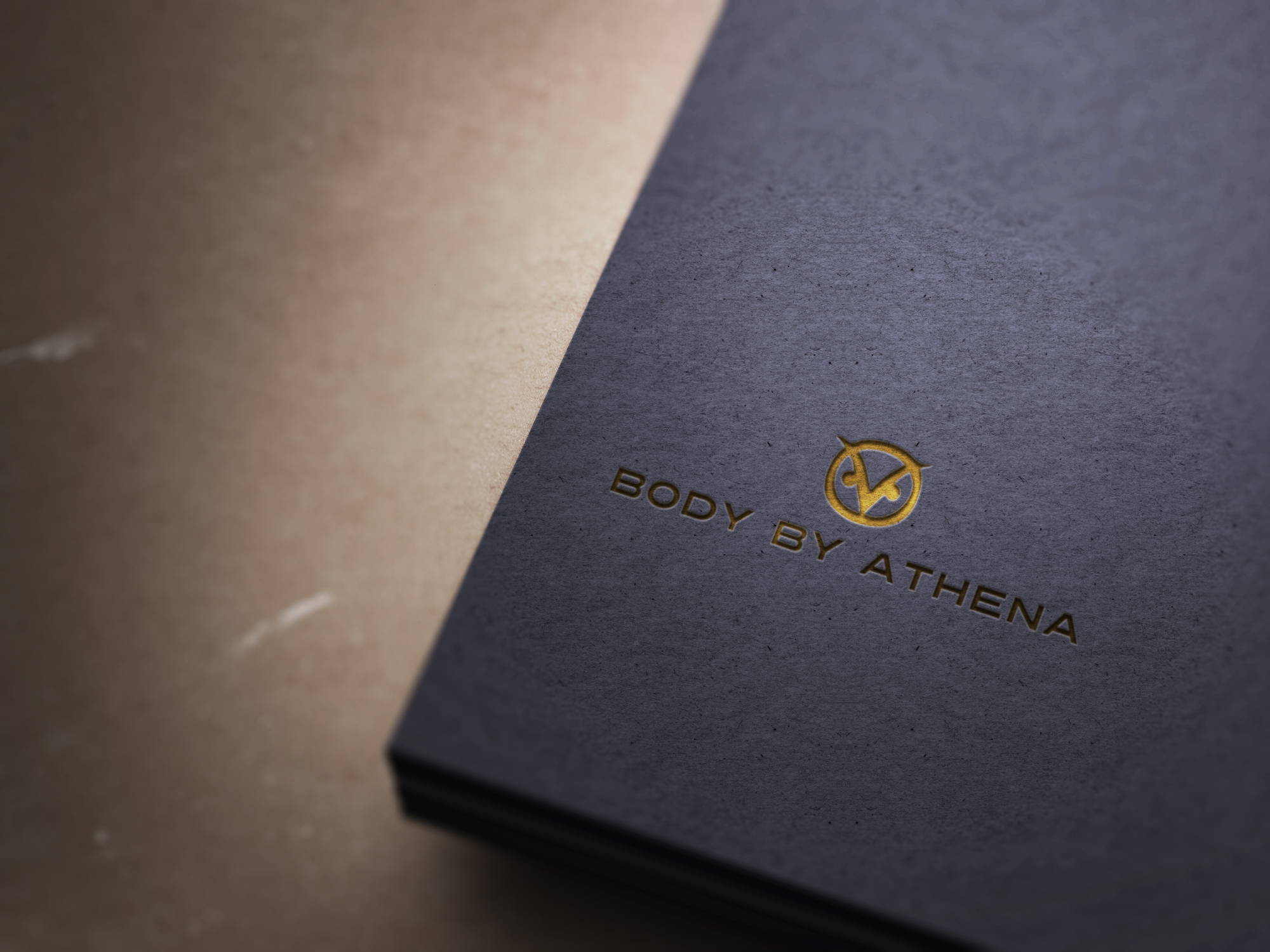 Body By Athena logo & business cards