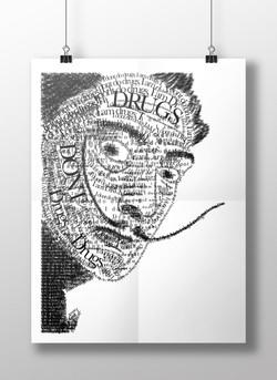 """""""I Dont Do Drugs, I Am Drugs"""" Poster"""