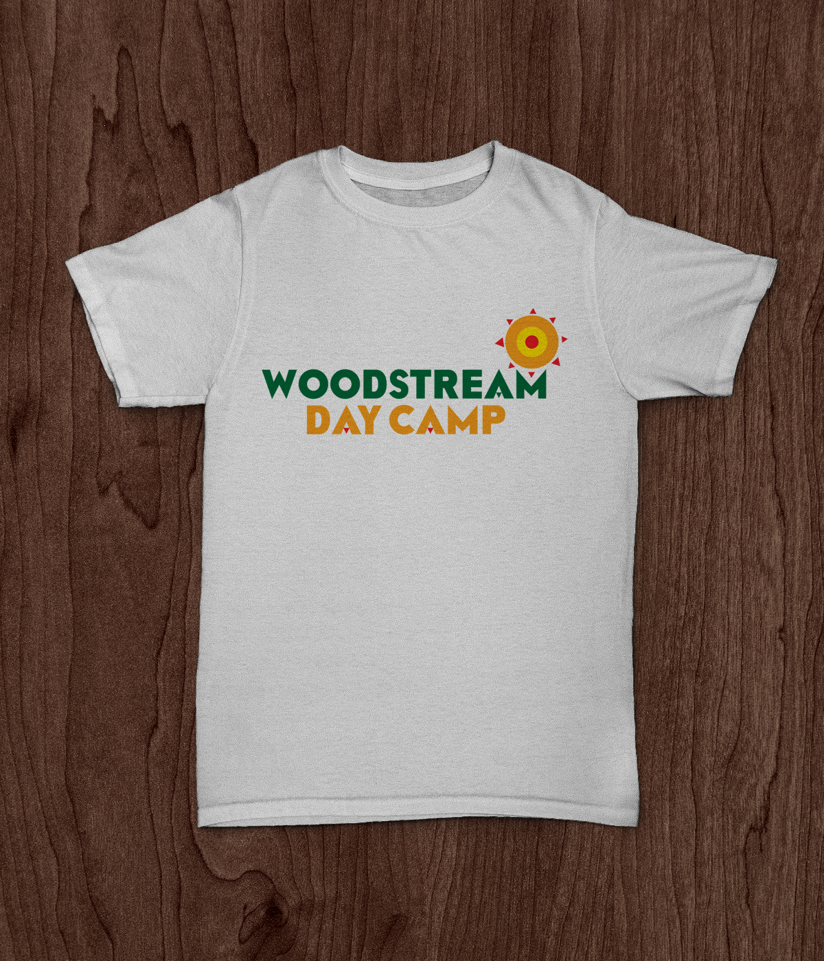 Woodstream Day Camp Logo T-shirt