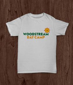 Woodstream Day Camp Logo T-shirt