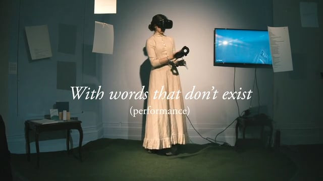 With words that don't exist