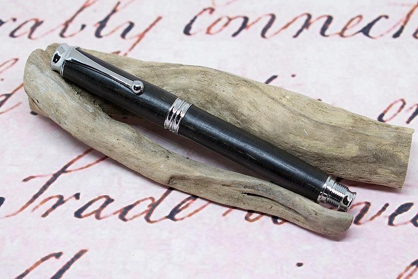 Edward Bog Oak with chrome trim