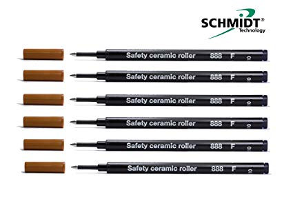 Schmidt 888 ceramic tipped refill fine tip - for our Edward pens