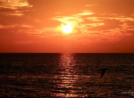 Il y a le ciel, le soleil et la mer