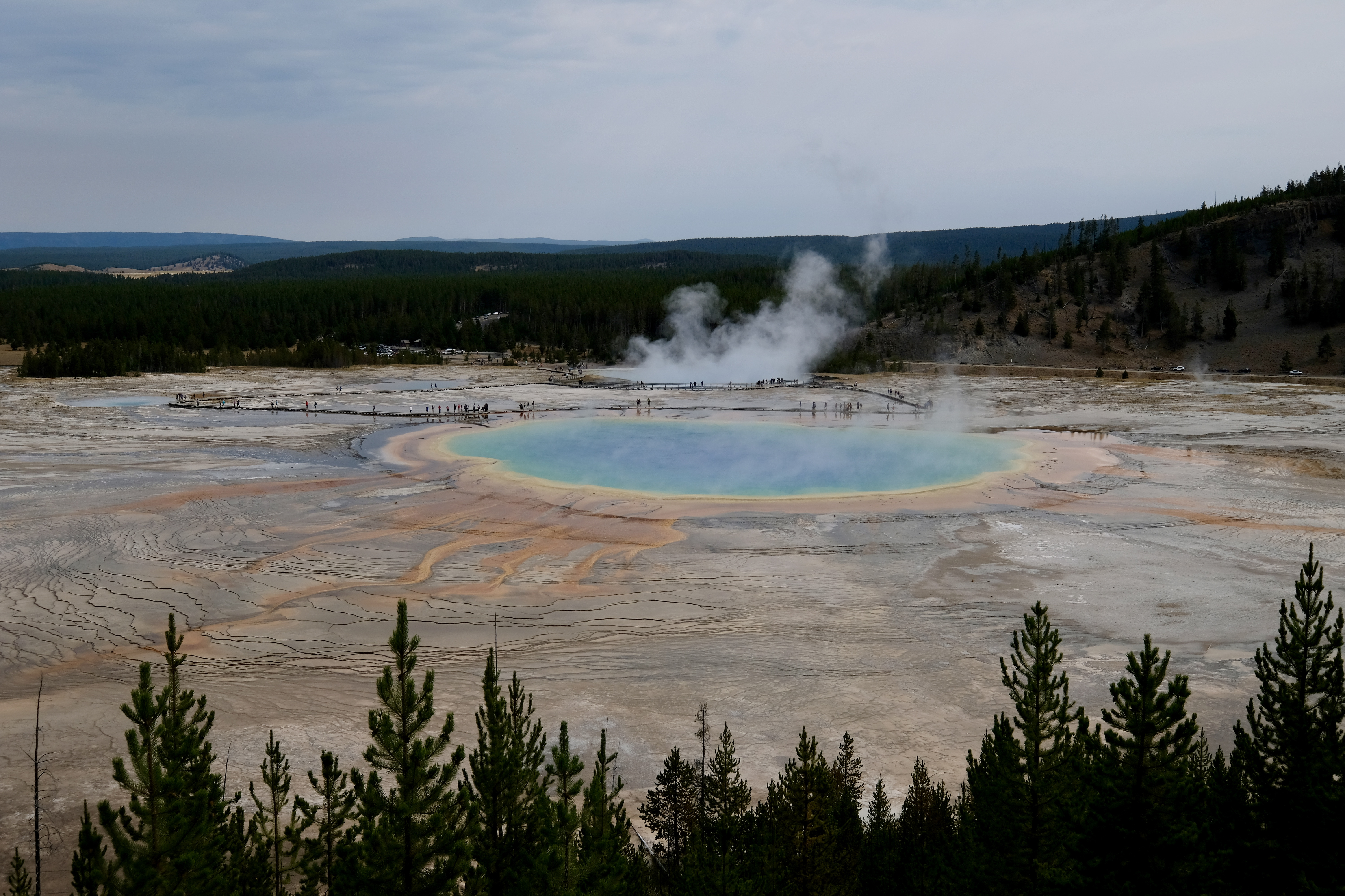 Yellowstone - Grand Prismatic Spring