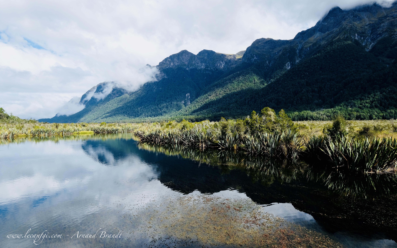 Fiordland Nat. Park - Mirror Lakes