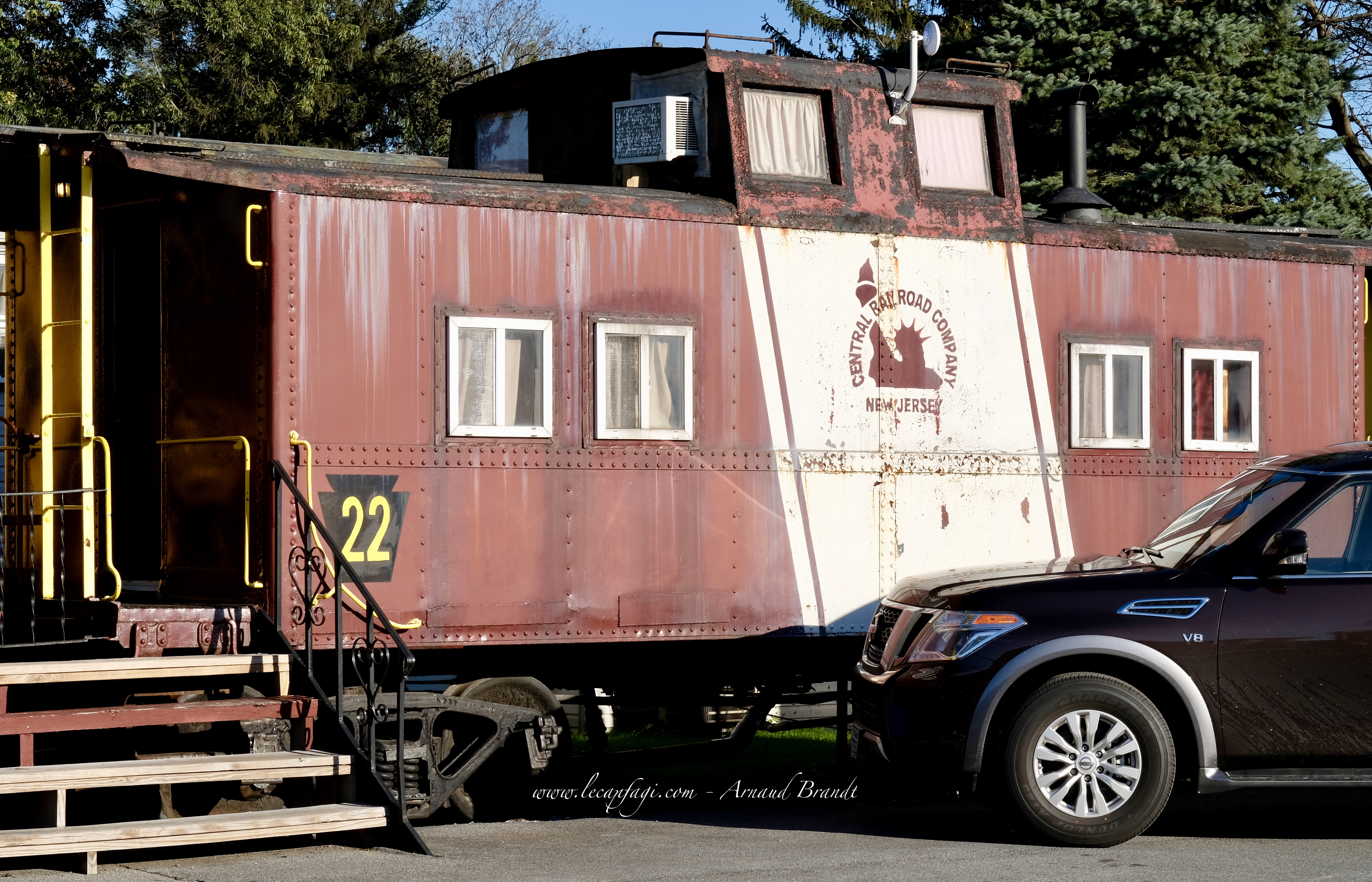Strasburg - the red caboose motel