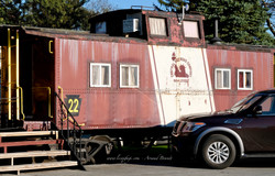 Strasburg - the red caboose motel