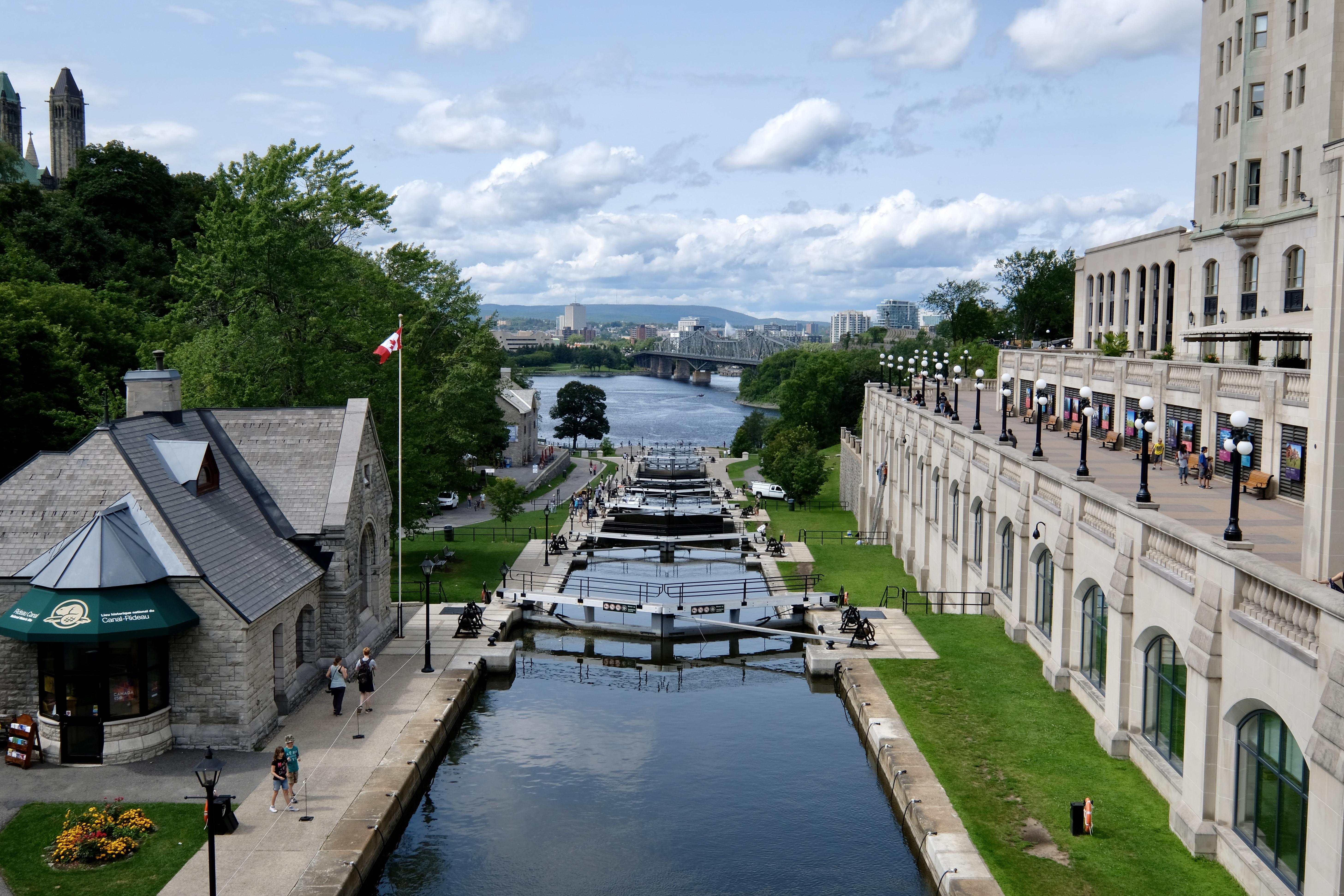 Ecluses du canal Rideau, Ottawa