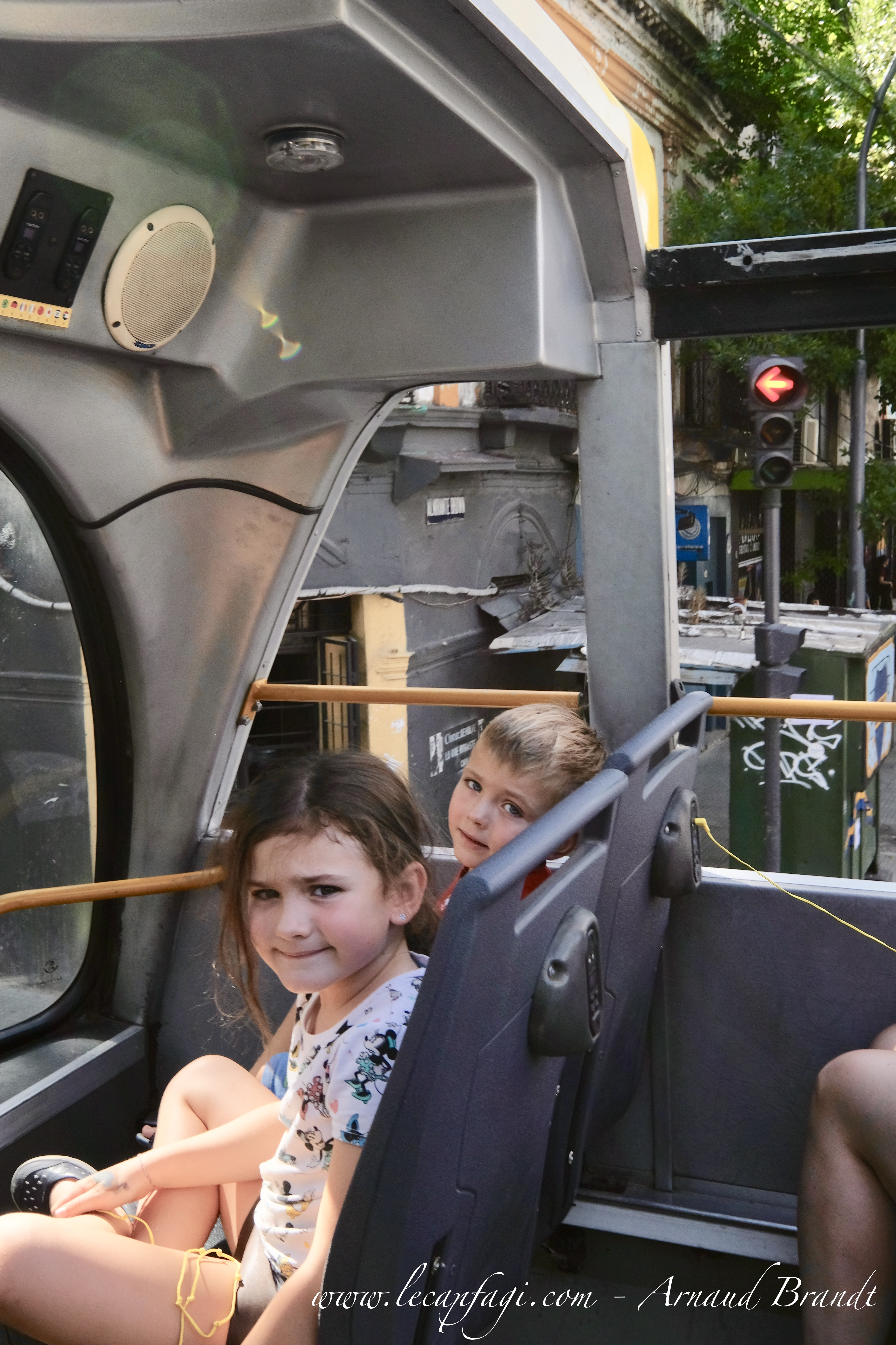 Buenos Aires hop-on-hop-off bus tour