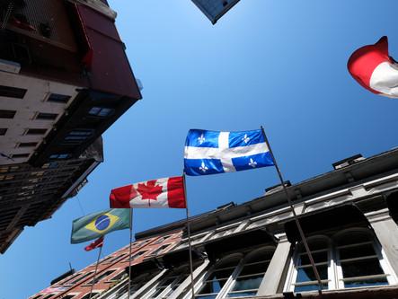 C'est parti! Québec nous voilà!