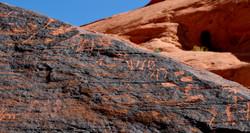Valley of Fire - Petroglyphs