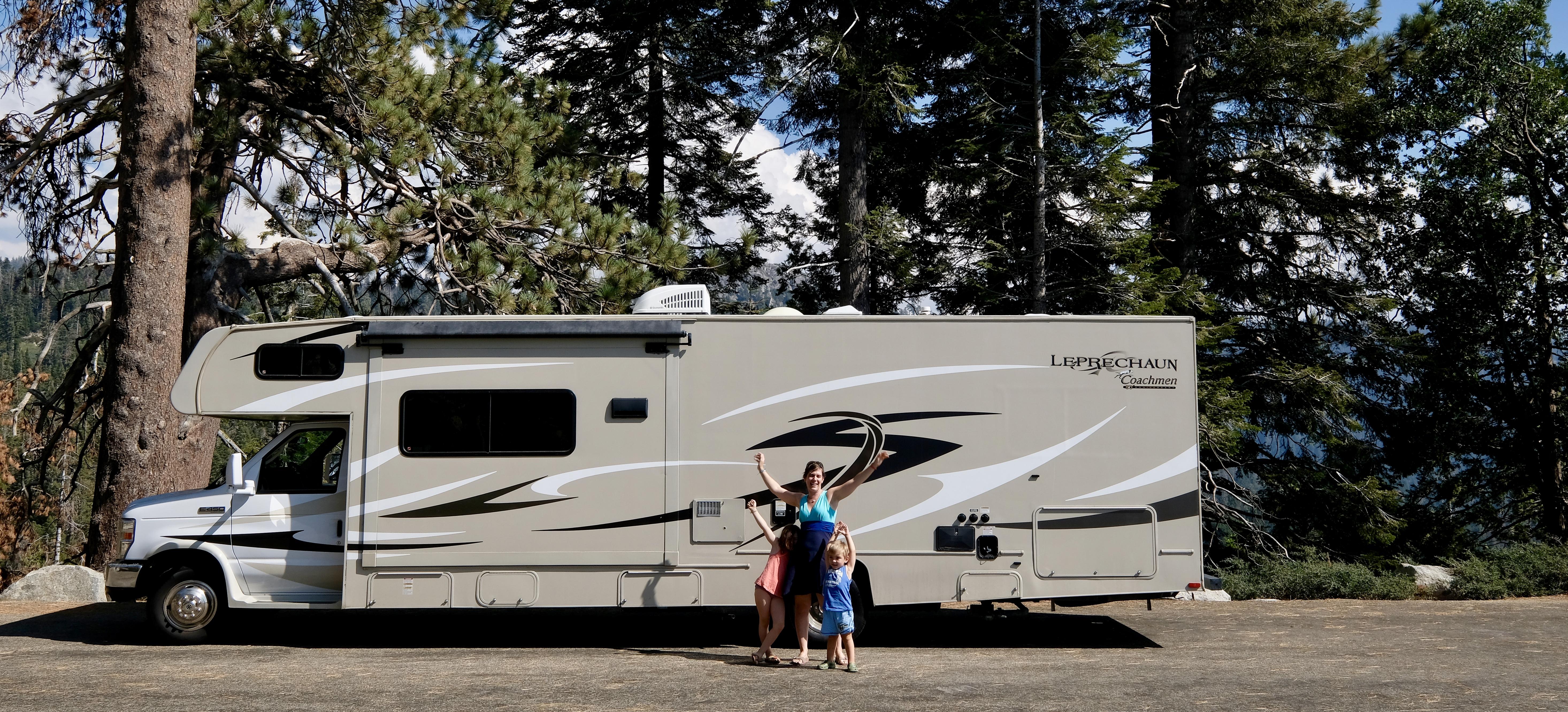 Sequoia Park - our RV