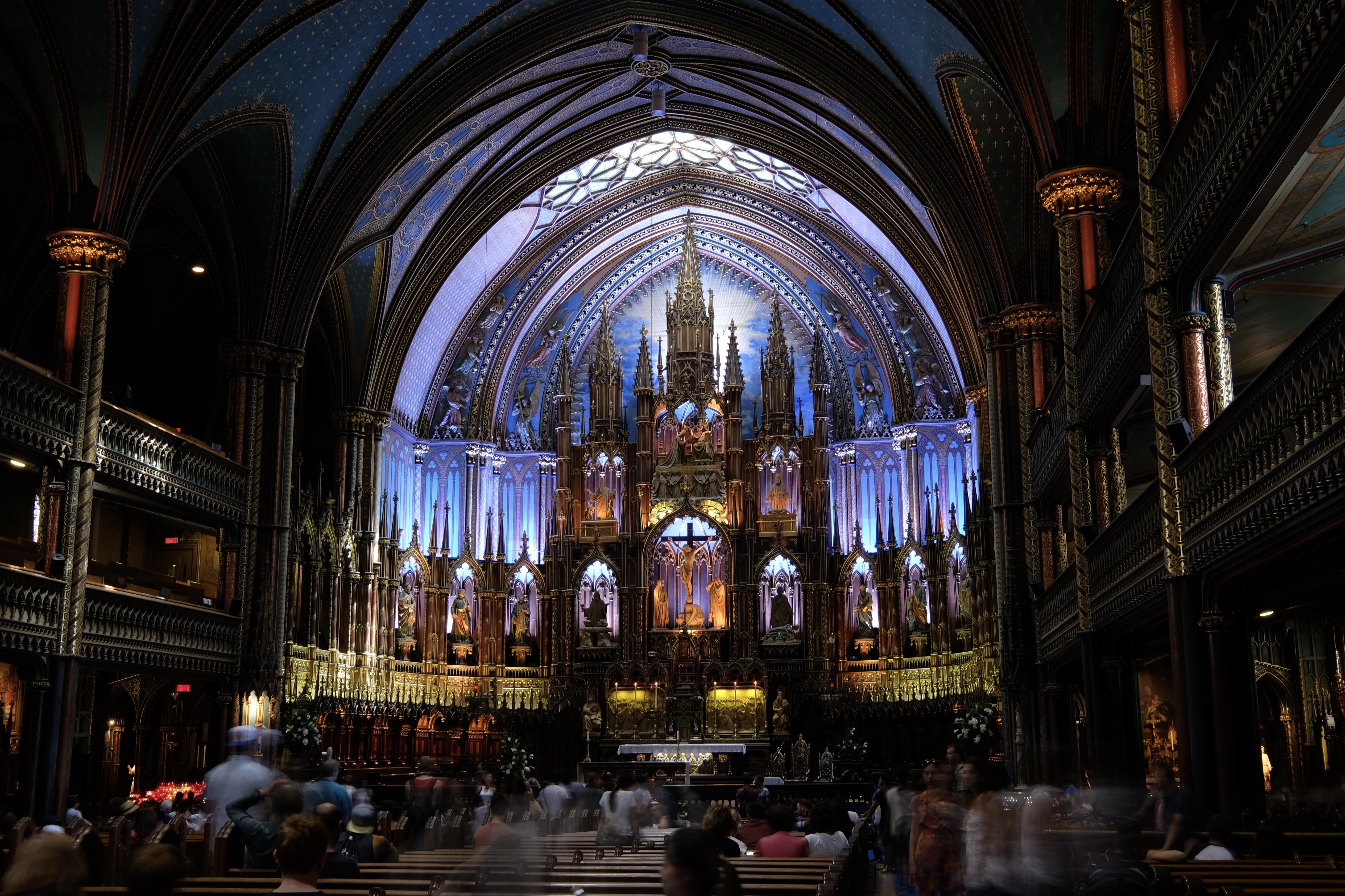 Intérieur Basilique ND de Montréal