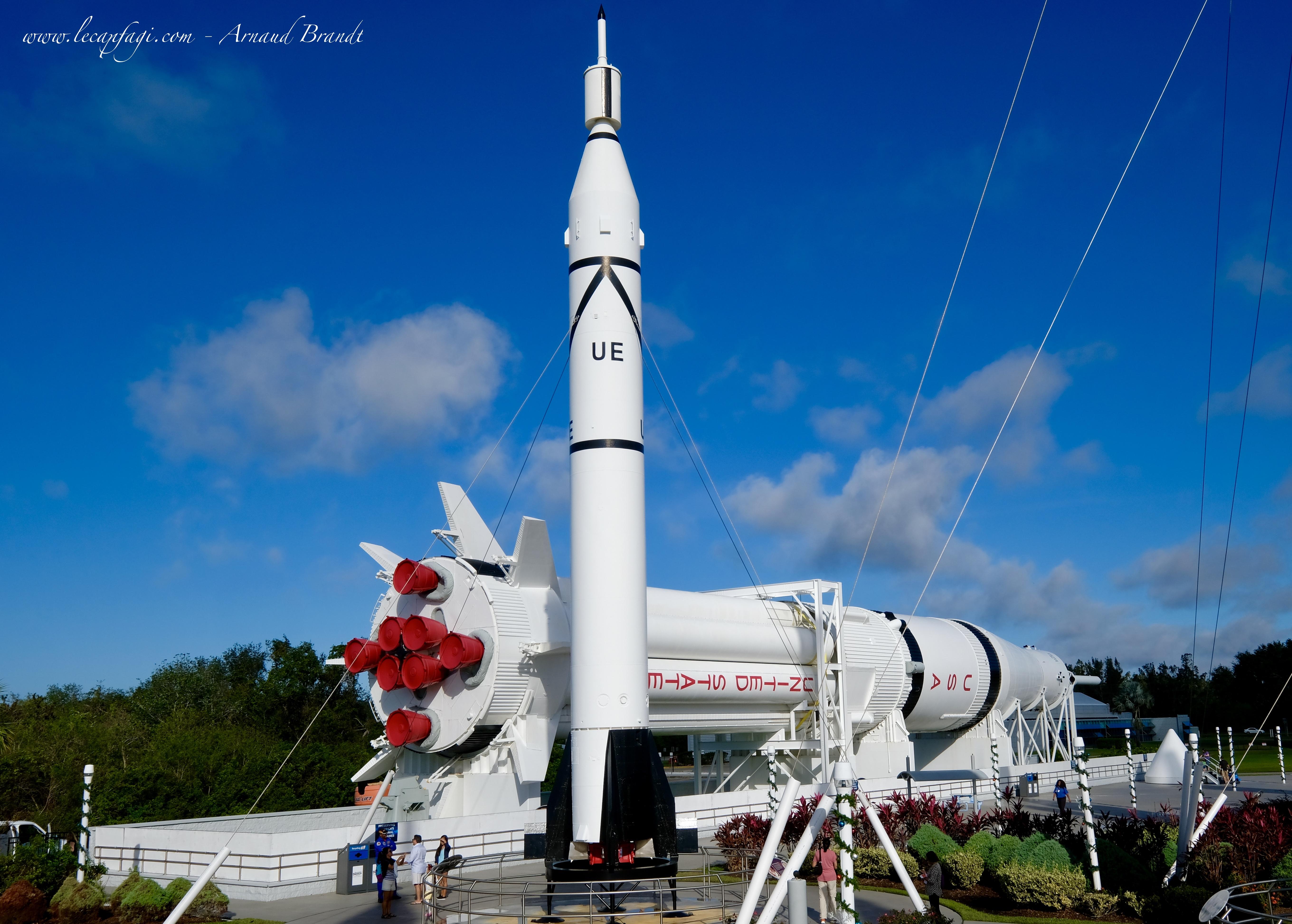 Kennedy Space C. - Rocket Garden