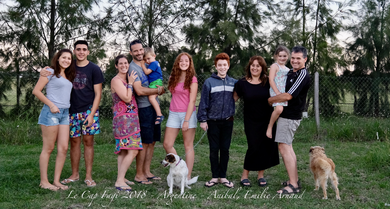 Anibal et sa famille 2017