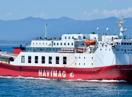En croisière-ferry de Puerto Natales à Puerto Montt