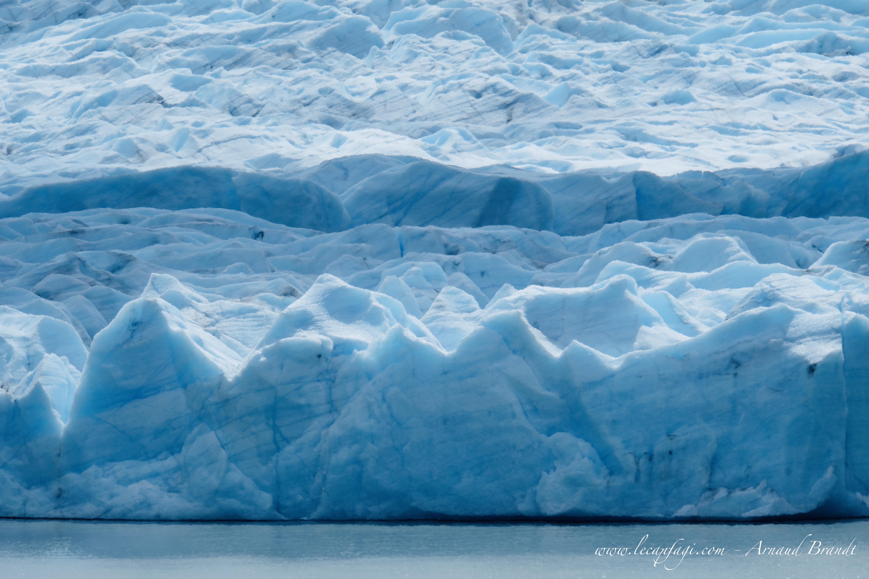 """Torres del Paine -""""W"""" - Glacier Grey"""