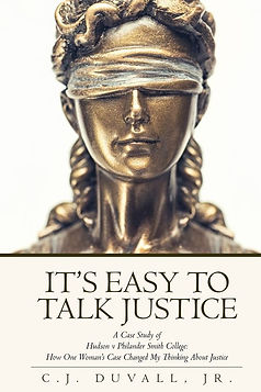 Dr. Duvall's It's Easy to Talk Justice, a case study of a Litle Rock discrimination case regarding FMLA and gender discrimination.