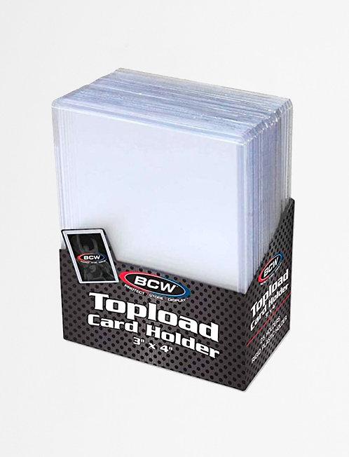Top loaders for pokemon kort 25stk pack.