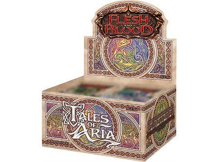 Flesh & Blood Tales of Aria 1st Edition CASE  Begrenset til 1 Case per person