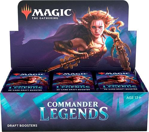 Magic Commander Legends Draft Display 24 boosterpakker - Fabrikkforseglet