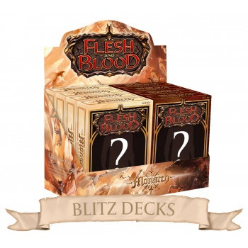 Flesh & Blood TCG - Monarch Blitz Decks Display (8 Decks) - EN