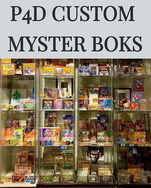 P4D VINTAGE  CUSTOM MYSTERY BOKS