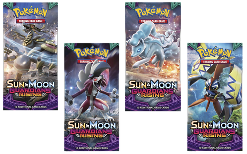 Sun and Moon Guardinas Rising 1 BOOSTER PAKKE