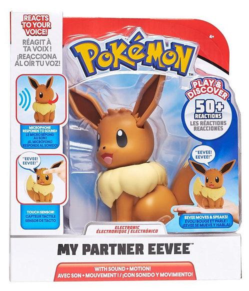 Pokemon Electronic My Partner Eevee - min elektroniske Eevee - interaktiv figur