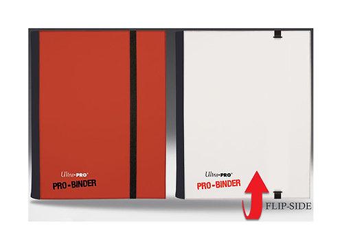 Ultra pro  - Pro-Binder - 4-Pocket Portfolio - RØDOG HVIT