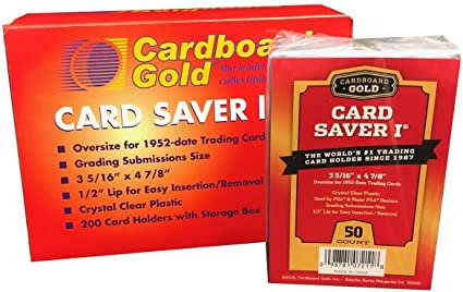 CARD SAVERS for pokemon kort 50 stk