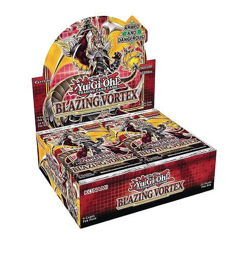 Yu-Gi-Oh! TCG Blazing Vortex Booster Box (24 Packs)
