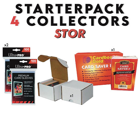 Collector Starter Pack Stor