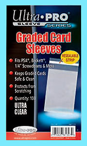 PSA kort Sleeves 100 stk