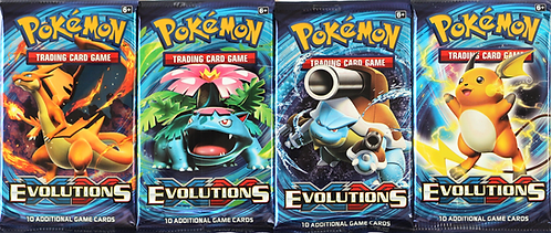 Evolutions booster pakke