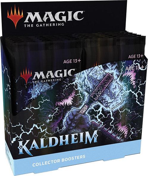 Magic Kaldheim COLLECTOR Display 12 boosterpakker - Fabrikkforseglet
