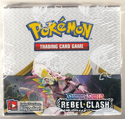 1 BOKS SWSH REBELS CLASH BOOSTER BOX 36 pakker per boks