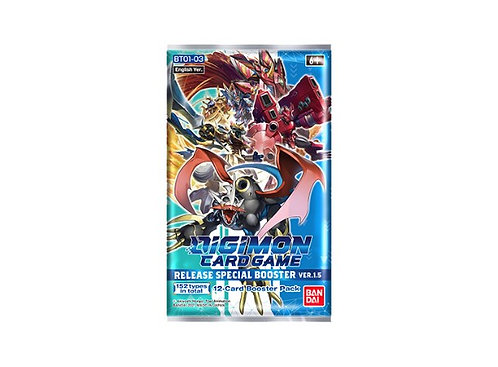 Digimon TCG Special Booster 1.5 Display 1 booster pakke Digimon