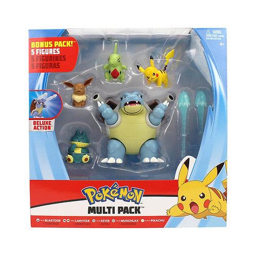 Pokémon - W5 - Battle Figure Multi Pack – 5 figurer